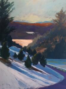 Blue Ridge Landscape: Snowy Day
