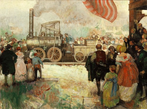 William D. White and the Murals of Delaware