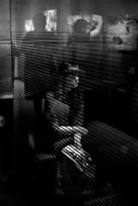 Girl at Newseum