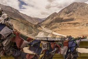 Prayer Flags on the Indus