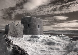Martello Tower, County Clare, Ireland