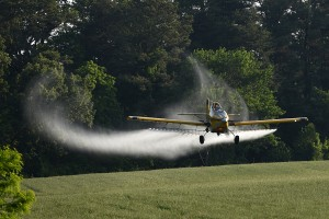 AMT Thrush Spray Plane