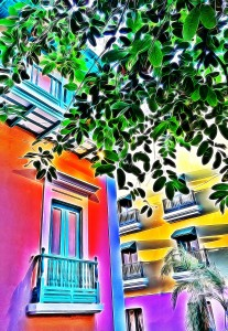 Colors of Old San Juan